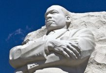 Martin Luther King Jr. Memorial statue (State Dept.)