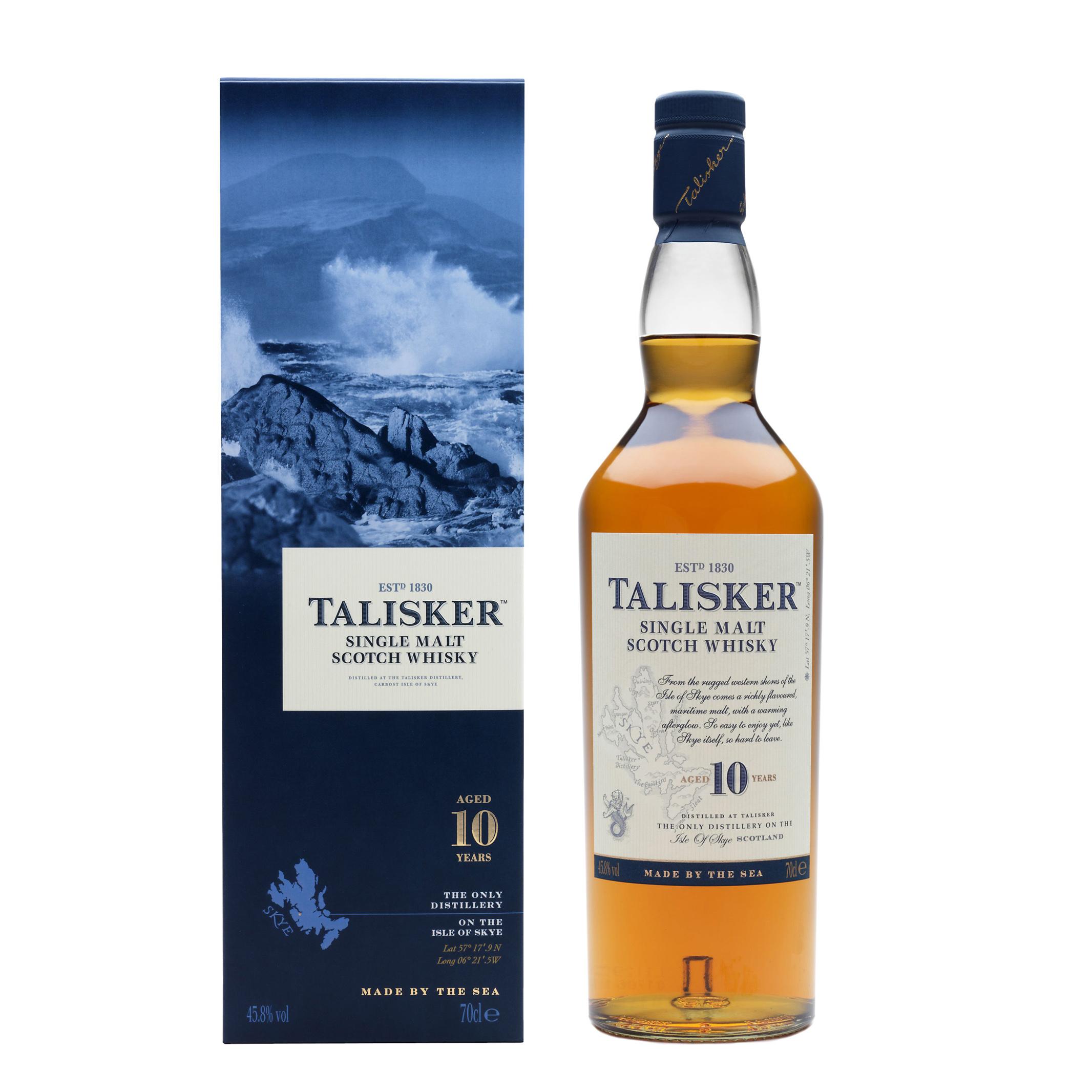 Talisker 10  Scotch Whisky 700mL