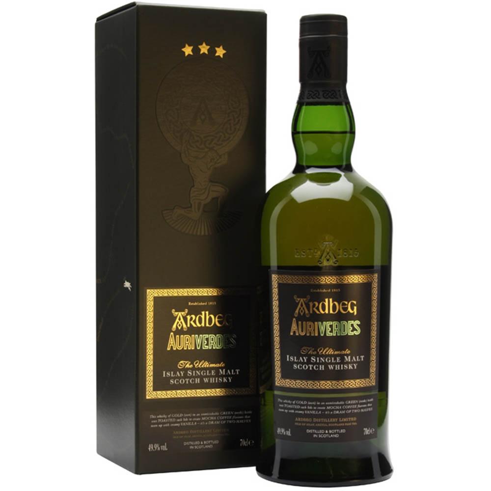 Ardbeg Auriverdes Scotch Whisky 700mL
