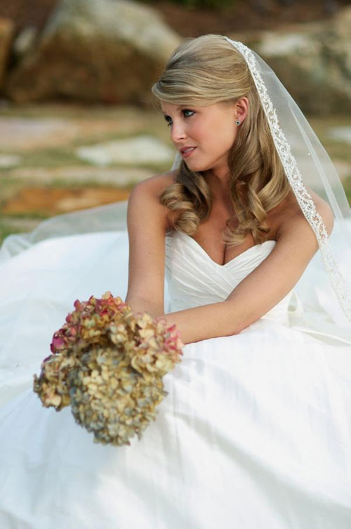 Top 10 Bridal Hairstyles For Long Hair 009