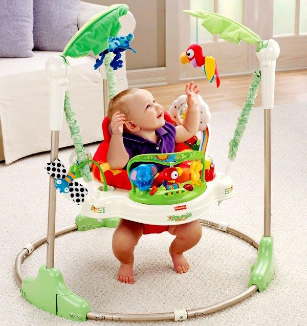 Fisher-Price Rainforest Jumperoo | Best Baby Jumper