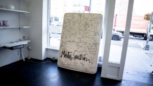 Single Tag On Mattress Covered In Scribble Could Land Artist Year In Jail