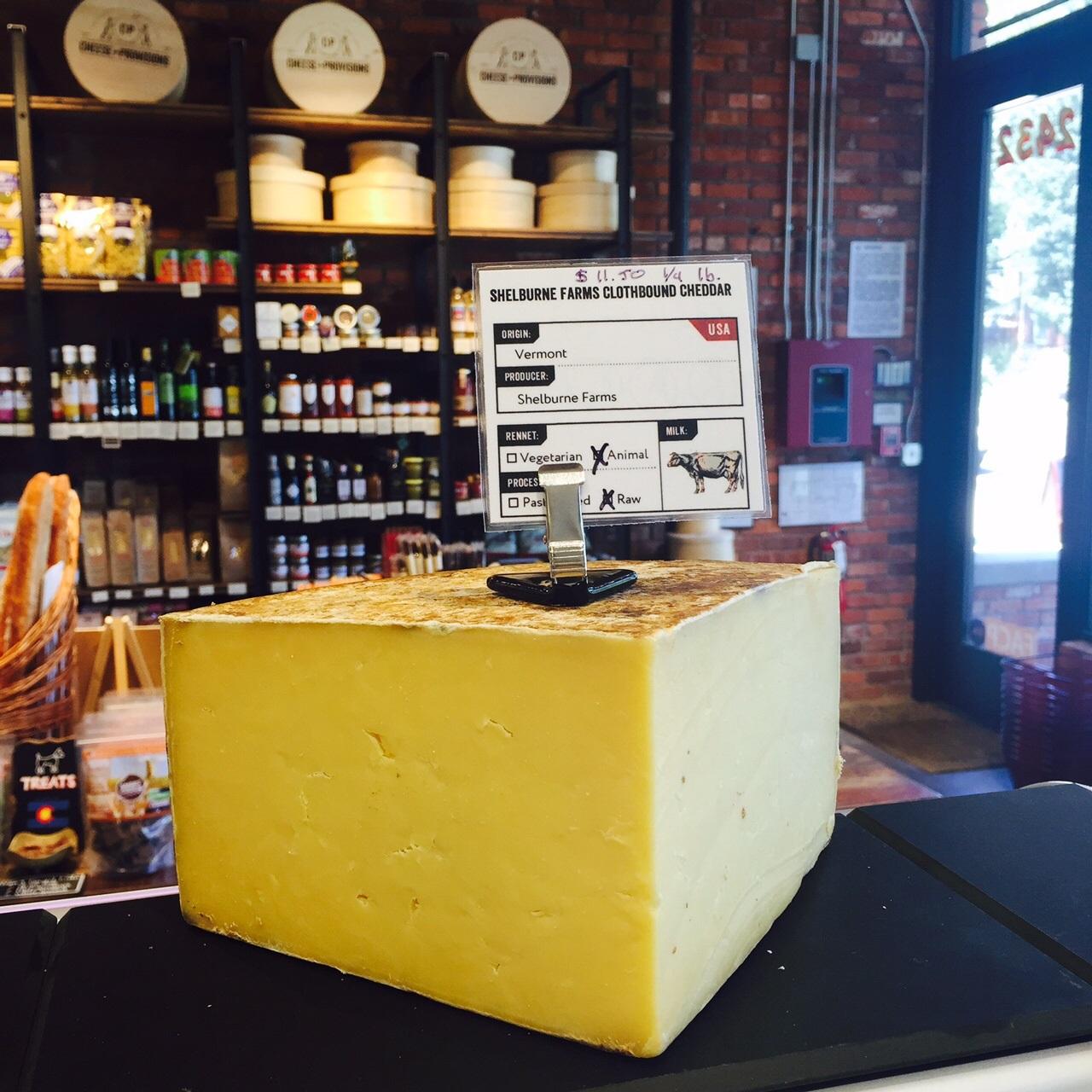 Cheese Spotlight: Shelburne Farms Clothbound Cheddar