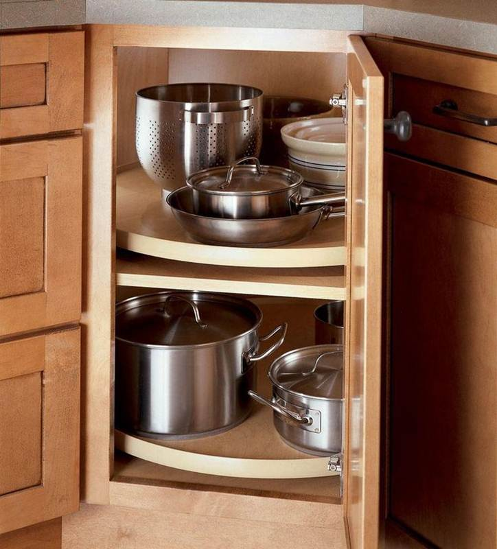 Image of: Kitchen Cabinet Organizers 2