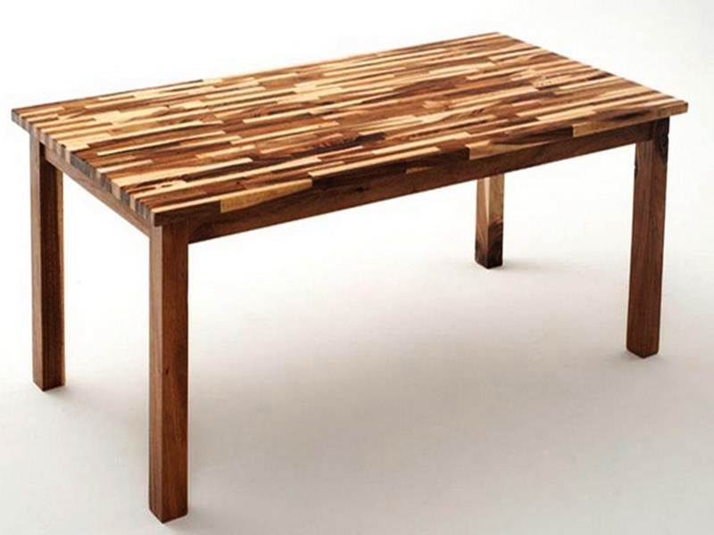 Image of: Butcher Block Table Tops