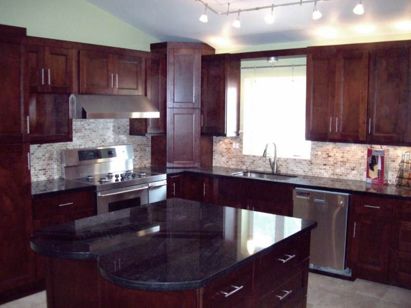 Image of: Cherry Kitchen Cabinets for Sale