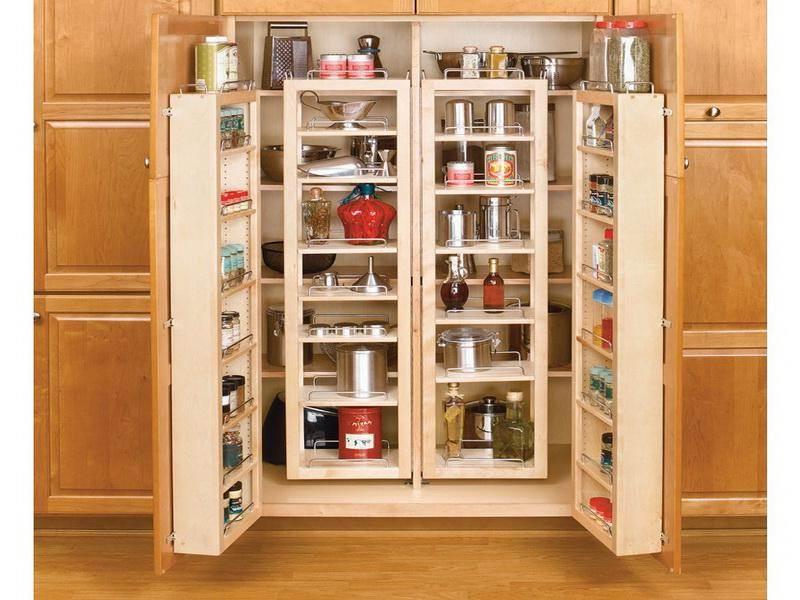 Image of: Kitchen Cabinet Storage Organizers