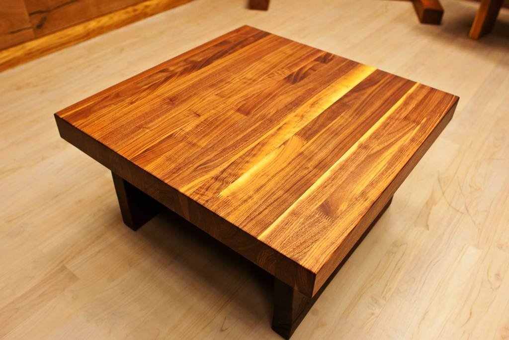 Image of: Butcher Block Table