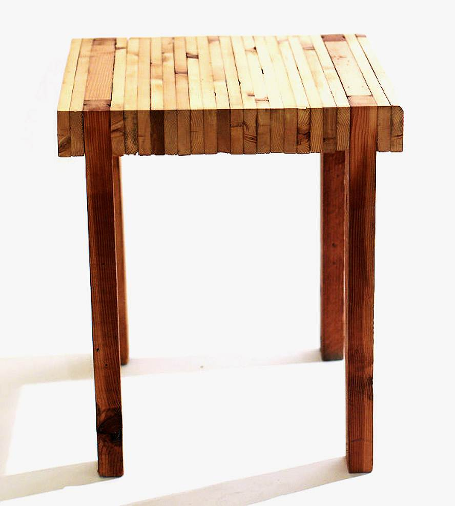 Image of: Butcher Block Coffee Table