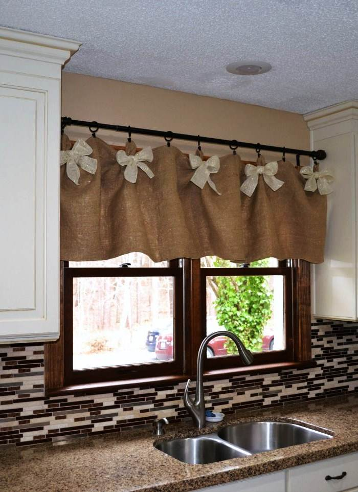 Image of: Kitchen Valances for Windows