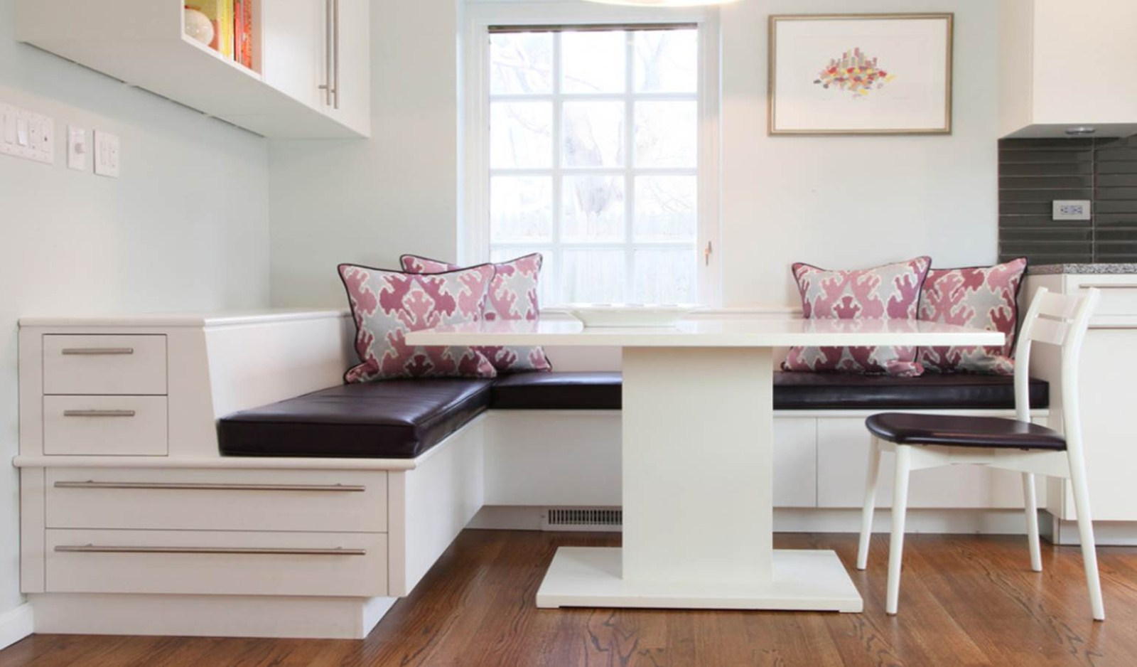Image of: Kitchen Bench Seating Cushions
