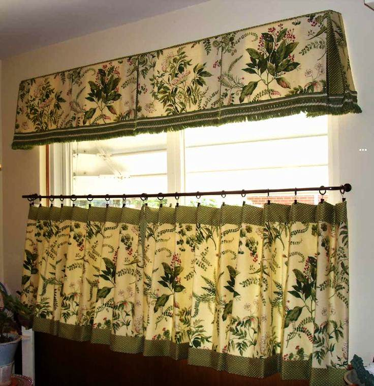 Image of: Kitchen Valance