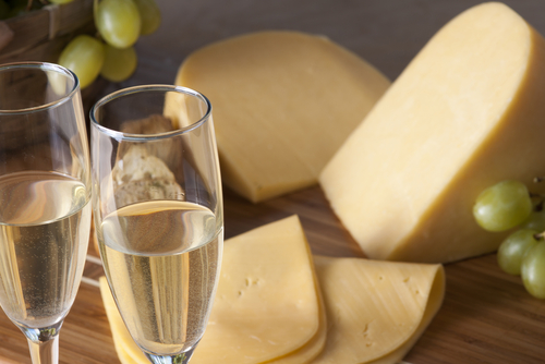 New Year's Eve Planning? Champagne is Perfect with Cheese.