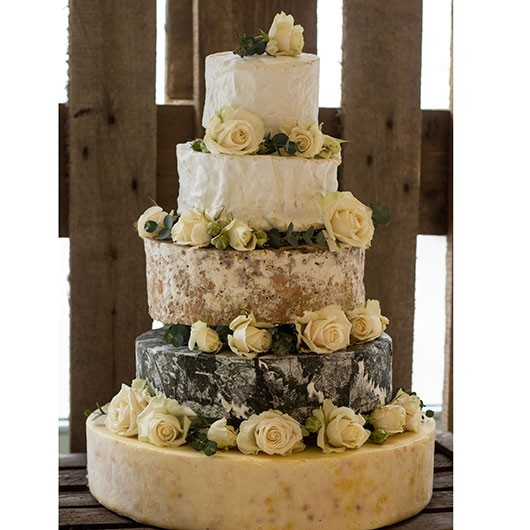 """Shake Up Your Denver Wedding with a Cheese """"Cake"""""""