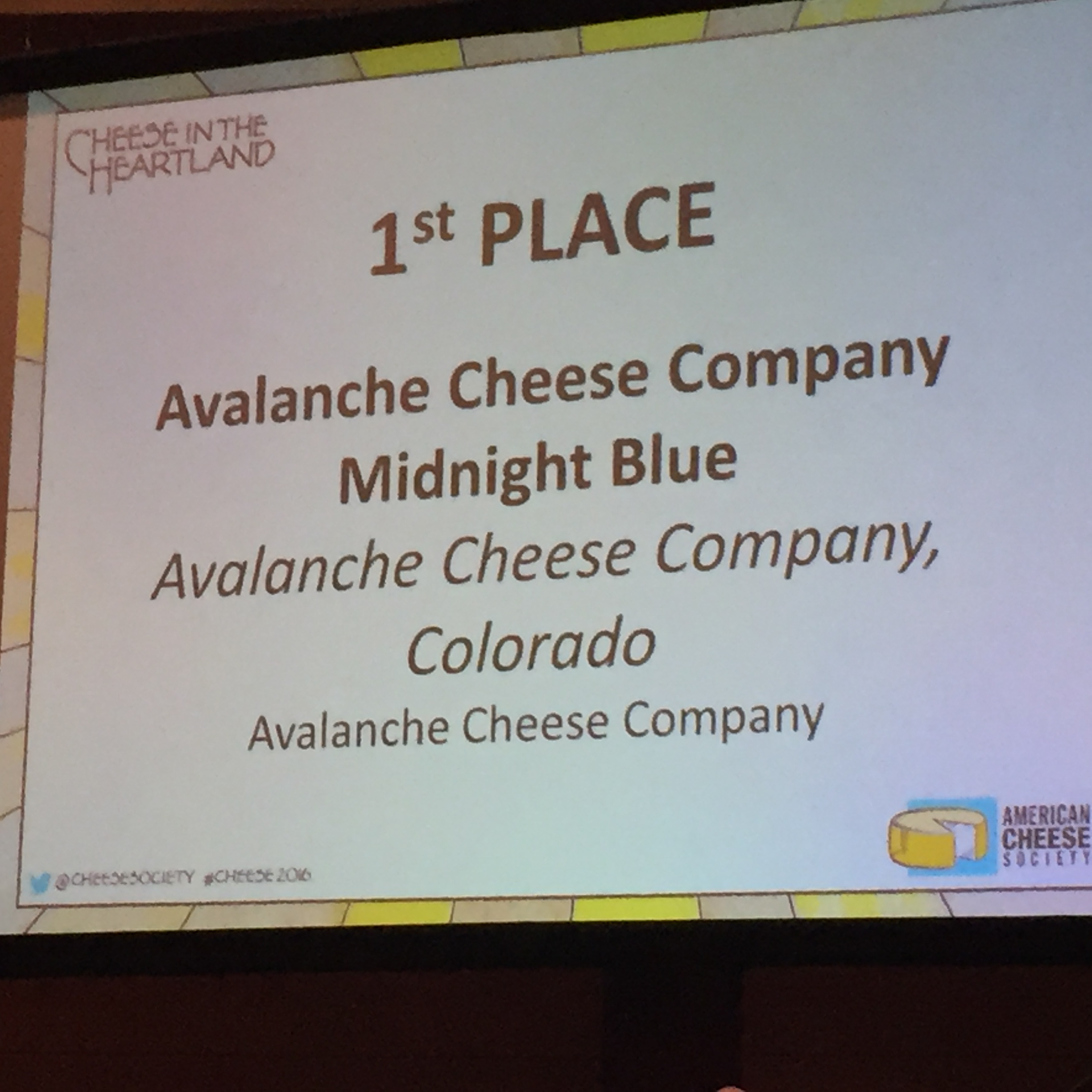 Colorado Wins at the Cheese Oscars