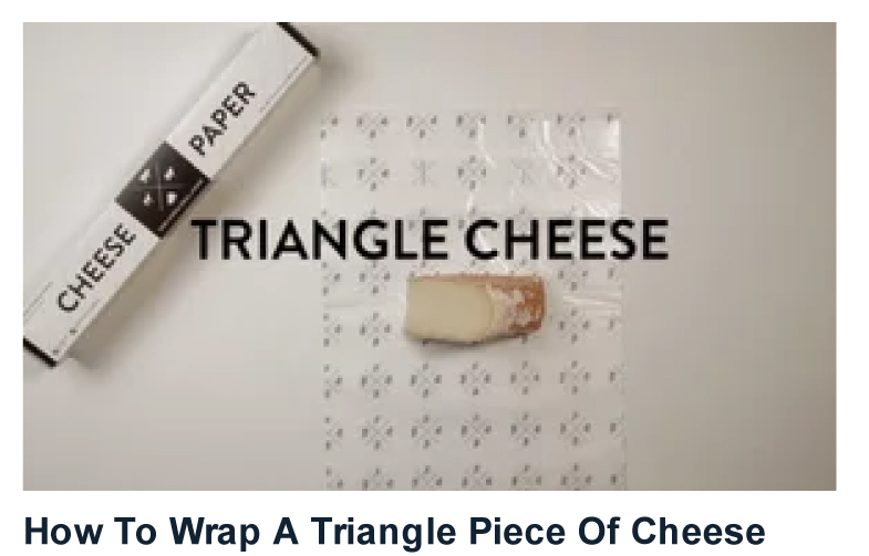 I need to do WHAT with my cheese?