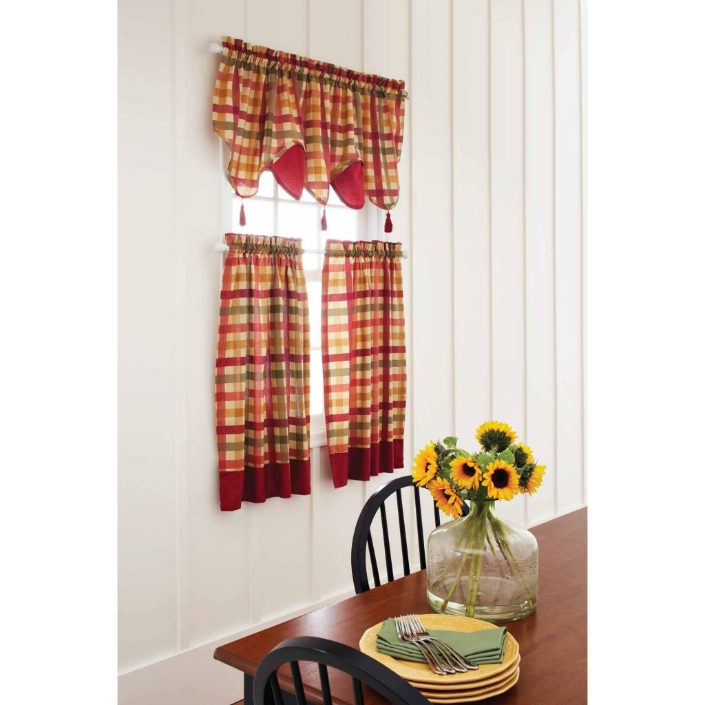 Image of: Kitchen Curtains and Valances