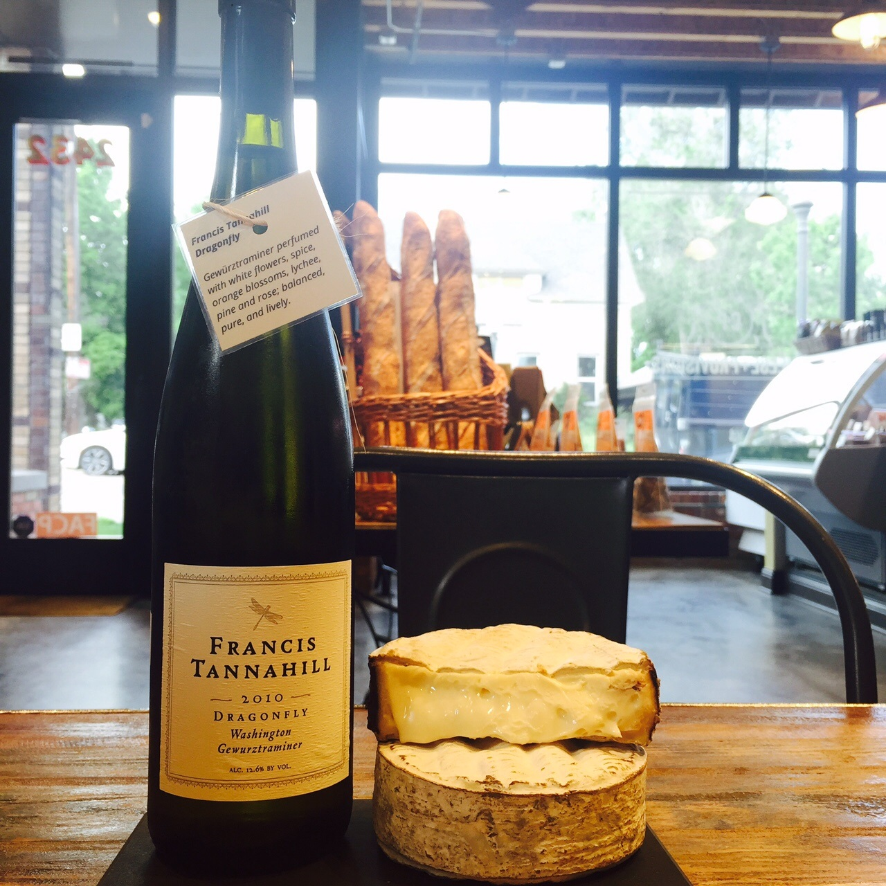 A Cheese+Wine Pairing for National Cheese Day!