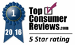 Dessert Club Receives Best-in-Class 5-star Rating from TopConsumerReviews.com