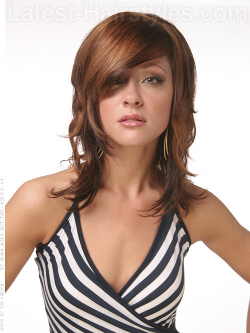 Layered Hairstyles 2013 For Medium Length Hair 001
