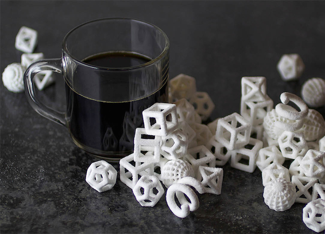 3D coffee sugar