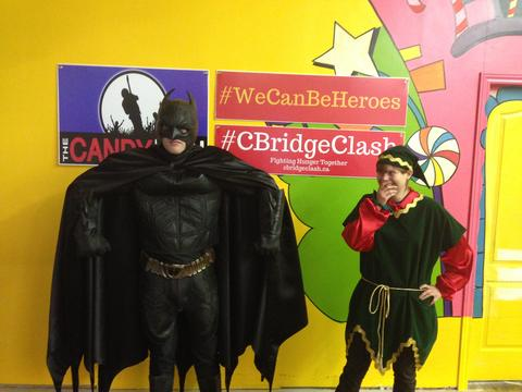 Batman and his Elf