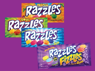 Razzles First it's Candy then it's Gum Make Back to School Sweet Blog