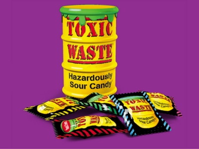 Toxic Waste Hazardously Sour Candy Make Back to School Sweet Blog