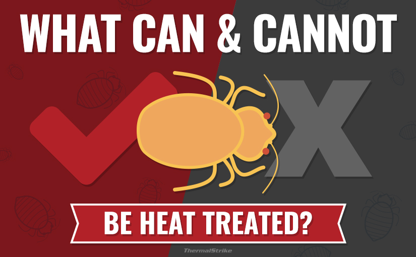 What can and cannot be heat treated? General guidelines