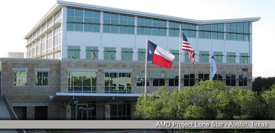 Solis Constructors, AMD Project Lone Star - Austin, Texas