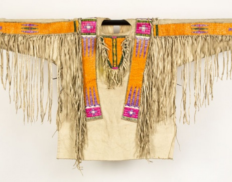 """""""Man's War Shirt,"""" Collection of the Sioux Indian Museum/IACB, Sioux"""