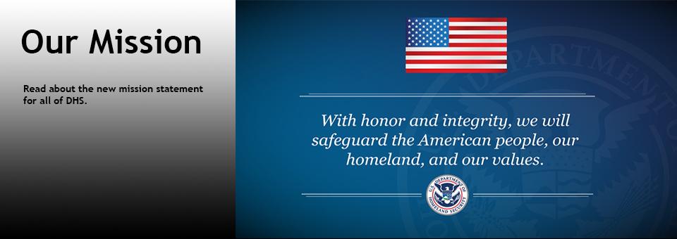 DHS Mission Statement
