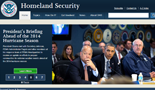 Department of Homeland Security web site.