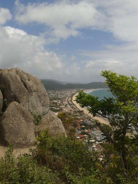 Bombinhas vista do alto do morro dos Macacos - Foto Francine Silva