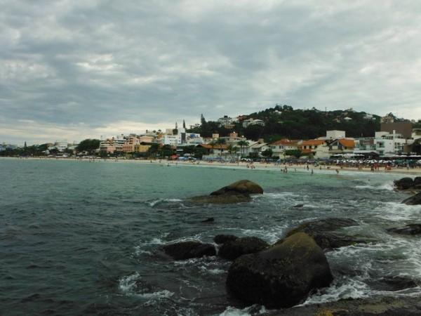 Praia de Bombas - Bombinhas/SC Foto ElianeG Luiz