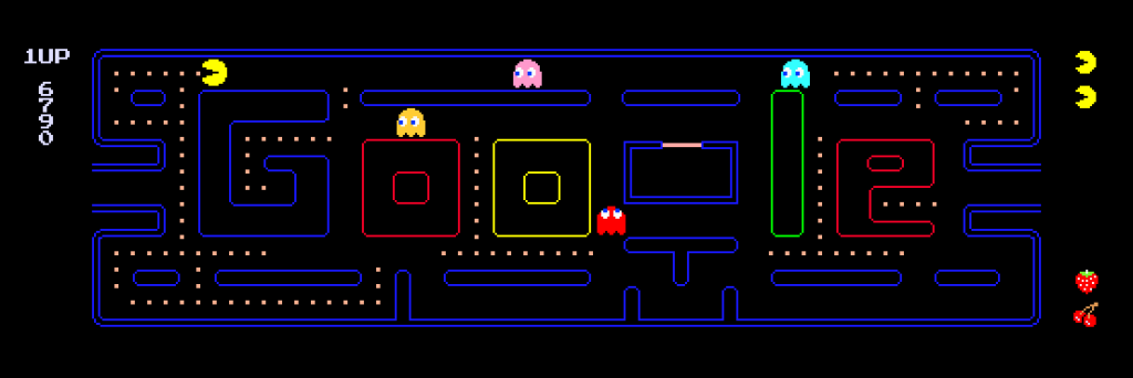 google pacman game trick and code