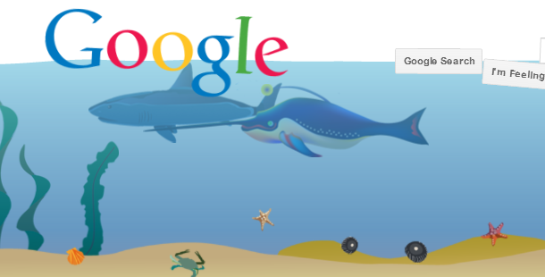 google underwater trick and code