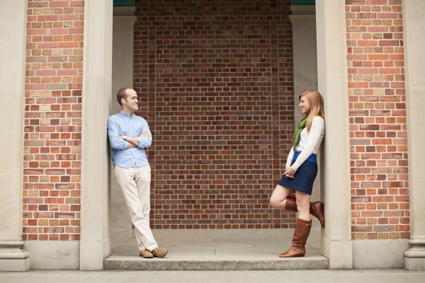 fun fall engagement session, sweet colorful fall engagement shoot, UNC engagement, love story, Robyn Van Dyke Photography