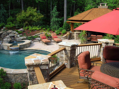 Deck Designs, Ideas, & Pictures: How to Build a Deck