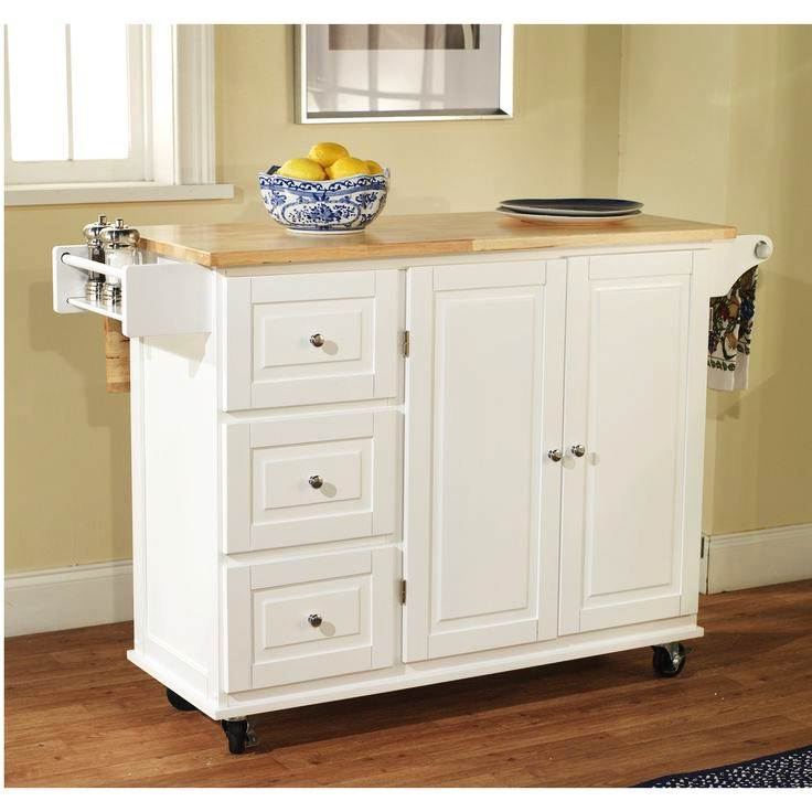 Image of: Rolling Island for Kitchen
