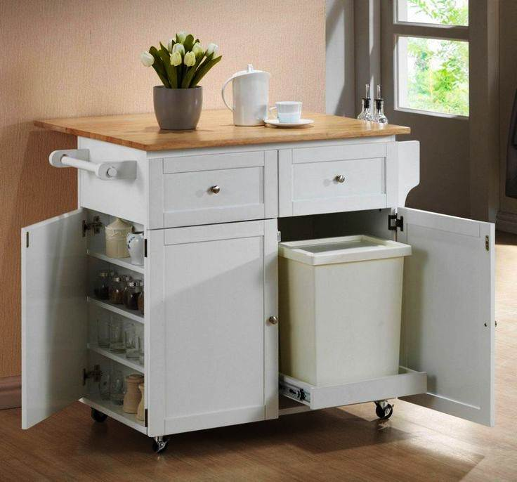 Image of: Rolling  Island Kitchen
