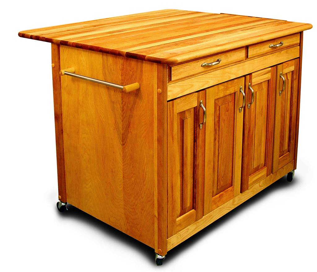 Image of: Rolling Kitchen Islands