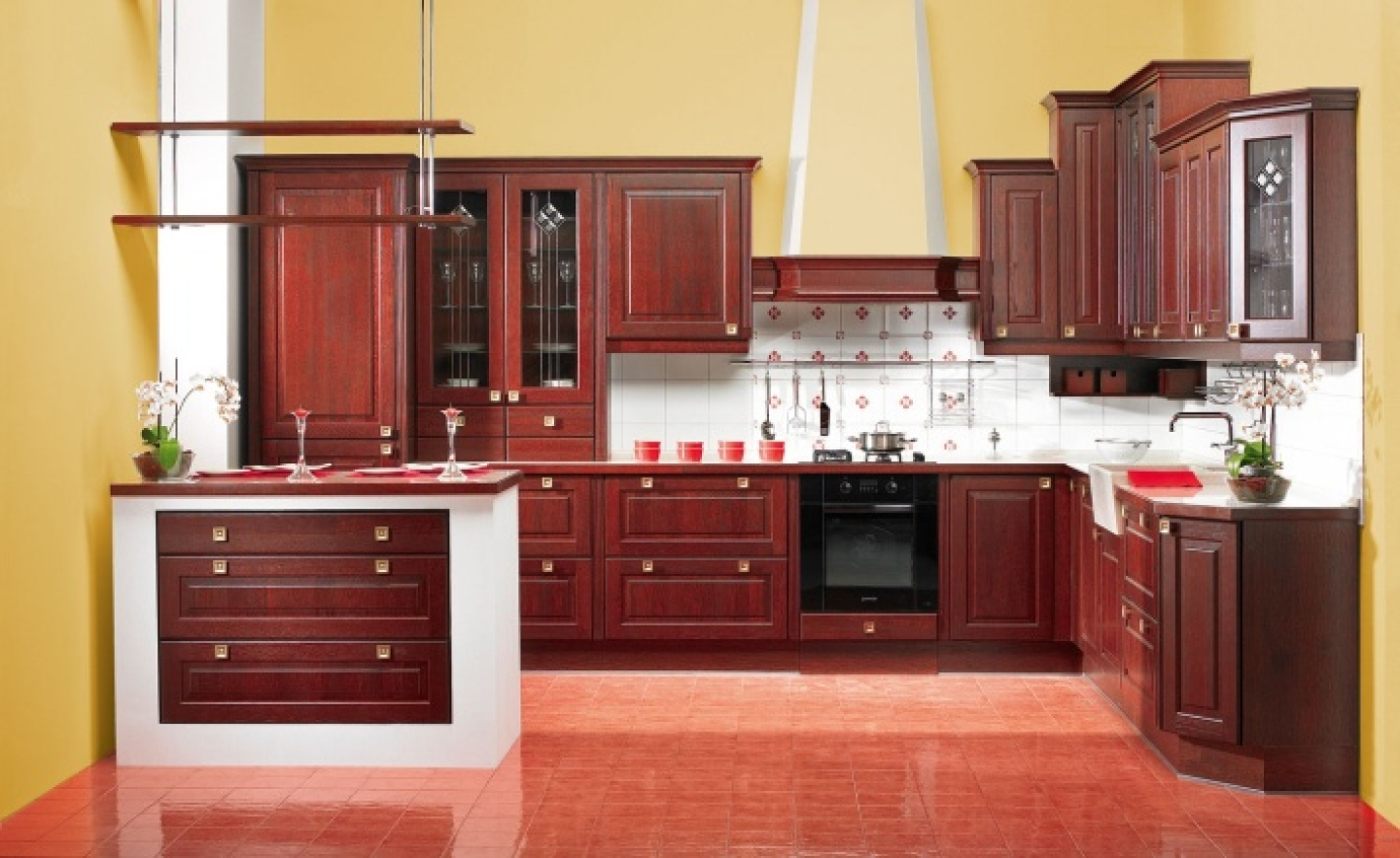 Image of: DIY Refinish Kitchen Cabinets