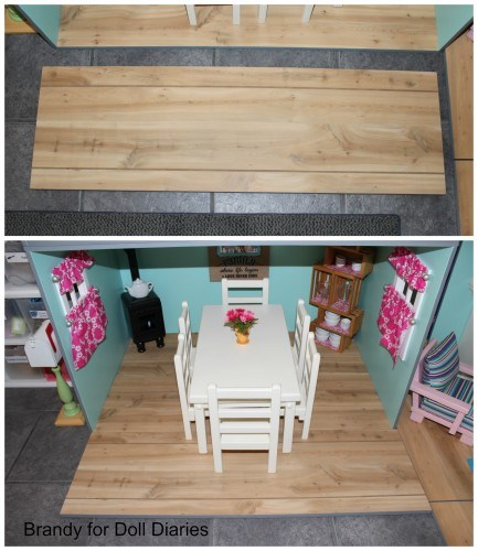 american girl dollhouse floor extension