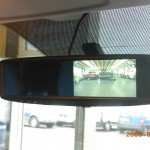Reversing camera mirror monitor