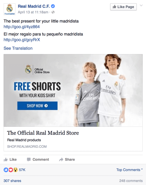 facebook page offer to fans