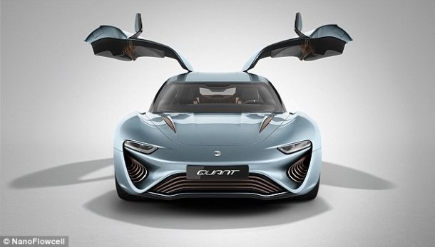 Quant e-Sportlimousine Runs On Salt Water And Is As Fast As McLaren P1 6