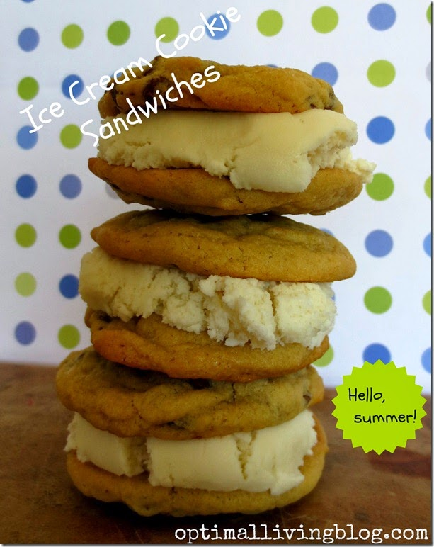 Ice Cream Cookie Sandwiches 10