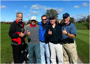ICRA Members at a golf tournament