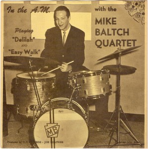 "Mike Baltch Quartet: ""Delilah"" [Green Dent 1008]"